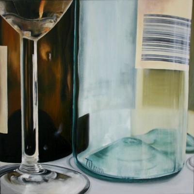 Glas 1 / Öl auf Leinwand / 50 x 50 cm / 2006