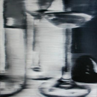 Glas 2 / Öl auf Leinwand / 50 x 50 cm / 2006