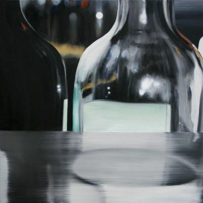 Glas 3 / Öl auf Leinwand / 50 x 50 cm / 2006