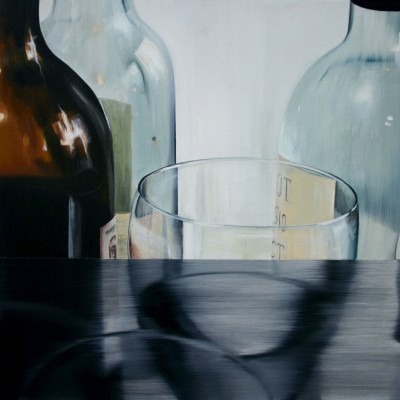 Glas 6 / Öl auf Leinwand / 50 x 50 cm / 2006