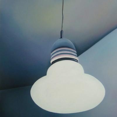 Kinderzimmerlampe / Öl auf Leinwand / 70 x 50 cm / 2015