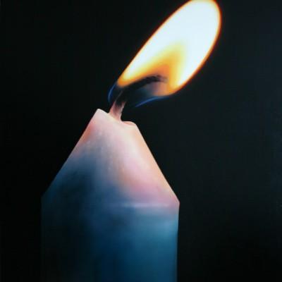Schein II / Öl auf Leinwand / 100 x 80 cm / 2011
