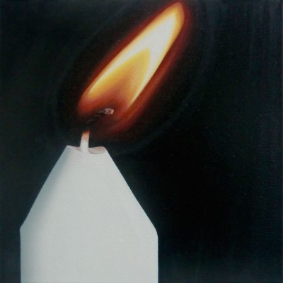Schein III / Öl auf Leinwand / 30 x 30 cm / 2015