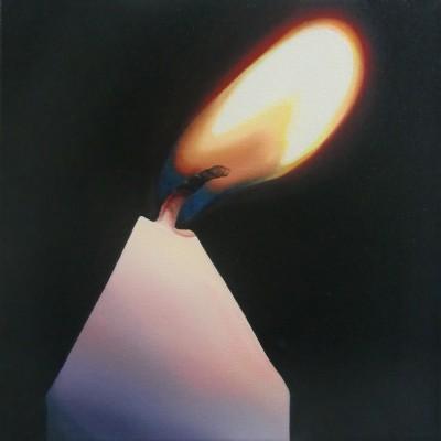 Schein VIII / Öl auf Leinwand / 30 x 30 cm / 2015