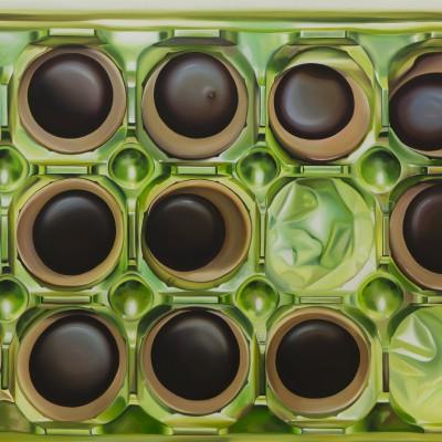 Toffifee V / Öl auf Leinwand / 100 x 120 cm / 2017 / verkauft