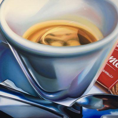 benvenuto / Öl auf Leinwand / 120 x 160 cm / 2019
