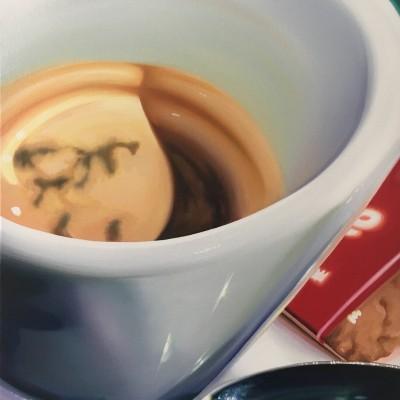 biscotto / Öl auf Leinwand / 70 x 50 cm / 2018 / verkauft