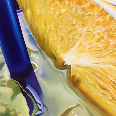 homemade lemonade / Öl auf Leinwand / 60 x 90 cm / 2020