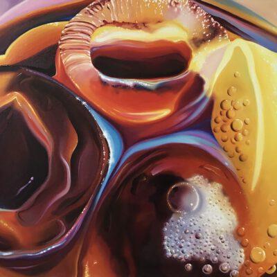 ice ice baby / Öl auf Leinwand / 60 x 90 cm / 2020