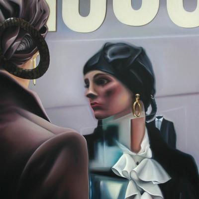 Sorrento passeggiata / Öl auf Leinwand / 120 x 100 cm / 2015