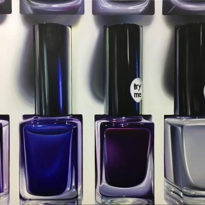 try me 3 / Öl auf Leinwand / 100 x 120 cm / 2018