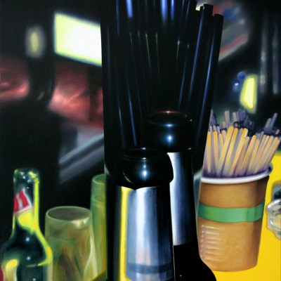 zurück / Öl auf Leinwand / 100 x 80 cm / 2011