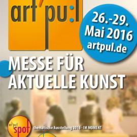 art'pu:l 2016 Produzentenmesse für aktuelle Kunst 26.-29. Mai 2016