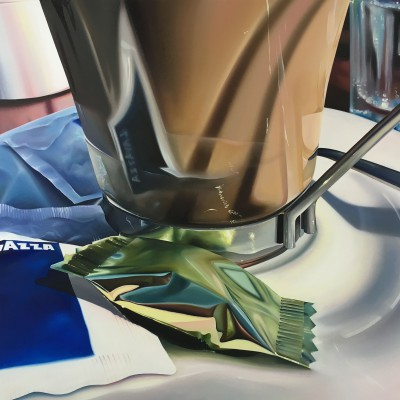 caramella / Öl auf Leinwand / 80 x 100 cm / 2016