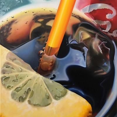 Cola / Öl auf Leinwand / 100 x 70 cm / 2016