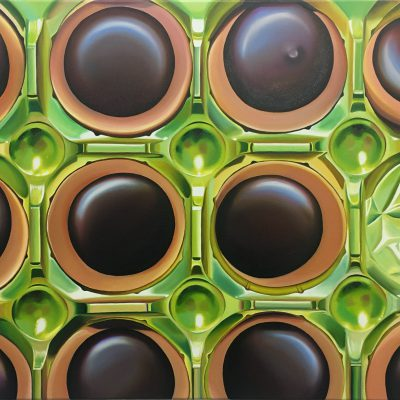 Toffifee VII / Öl auf Leinwand / 60 x 90 cm / 2019