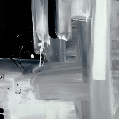 Introspektion 07 / Öl auf Leinwand / 70 x 50 cm / 2021