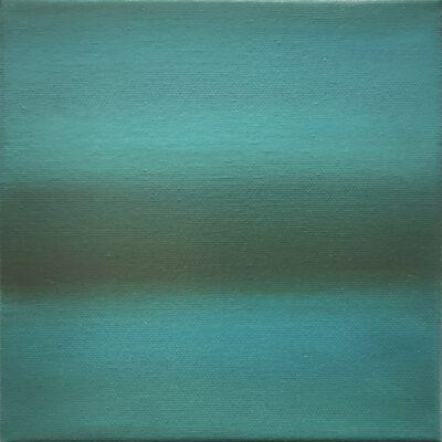 Introspektion 16 / Öl auf Leinwand / 20 x 20 cm / 2021