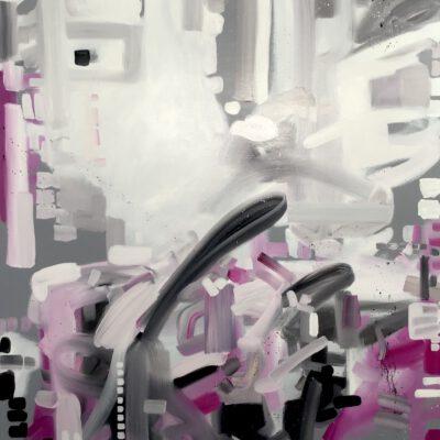Introspektion 08 / Öl auf Leinwand / 120 x 100 cm / 2021