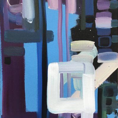 Introspektion 14 / Öl auf Leinwand / 40 x 30 cm / 2021